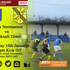 South Normanton vs Hucknall Town 10-1-18