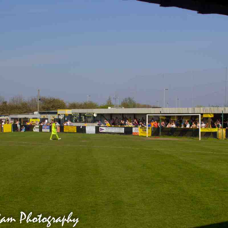 Hucknall Town vs Ashland Rovers 20-4-19