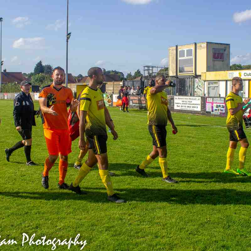 Hucknall Town vs Graham St Prims