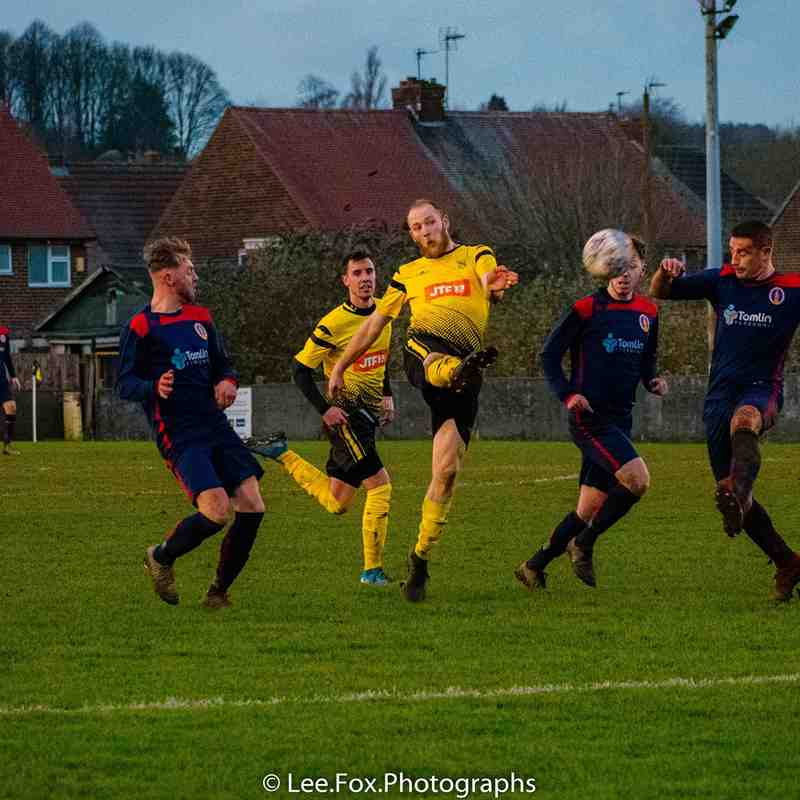 Hucknall Town vs Rainworth MW 18-1-20