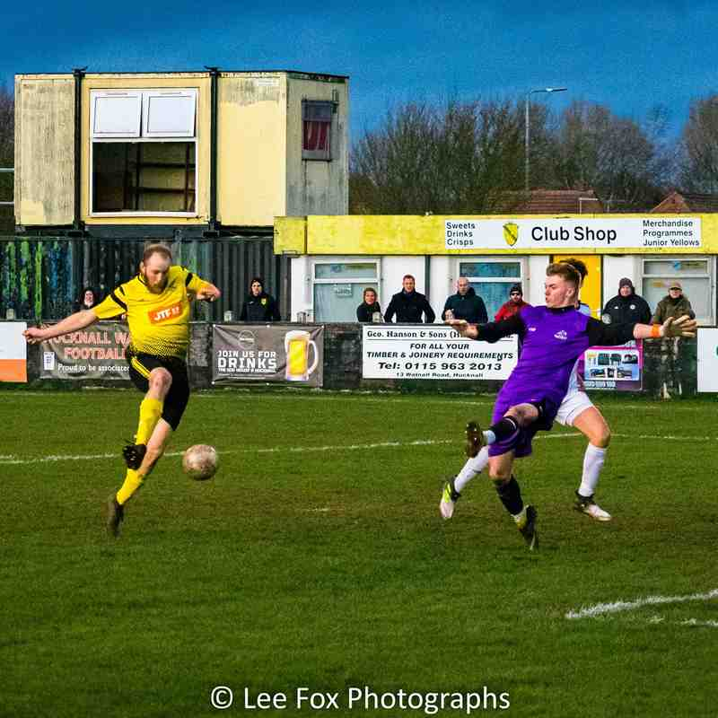 Hucknall Town vs Clifton All Whites 1-2-20