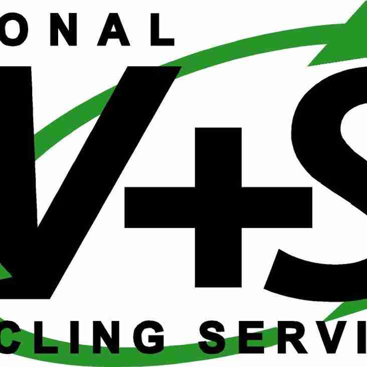 W+S Recycling have renewed there shirt sponsorship for the coming season.