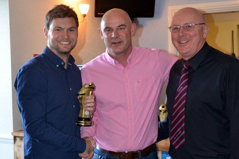 Awards night Steve Smith top goal scorer.