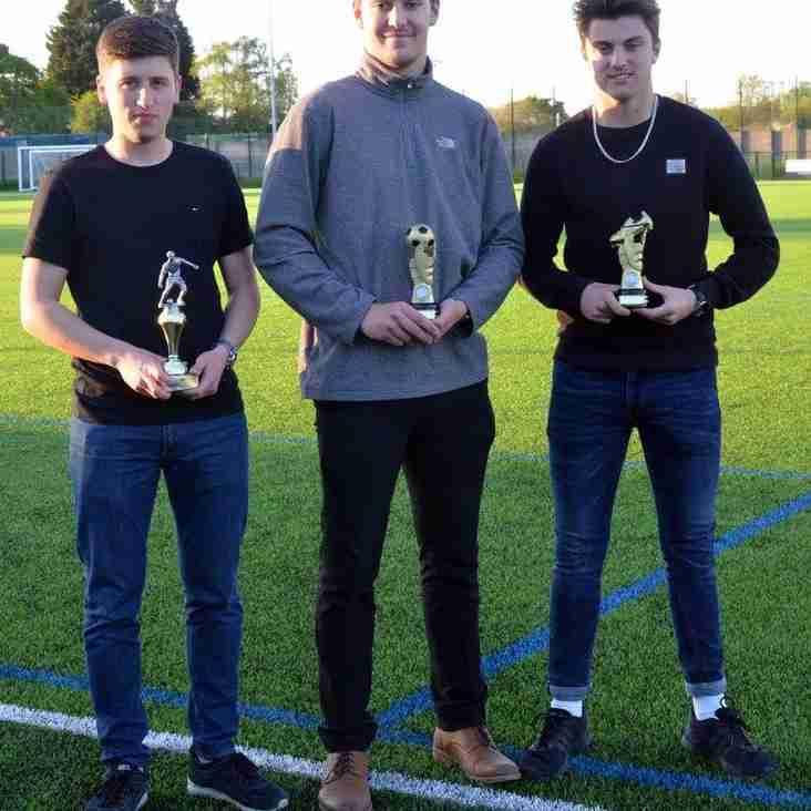 U18s award winners