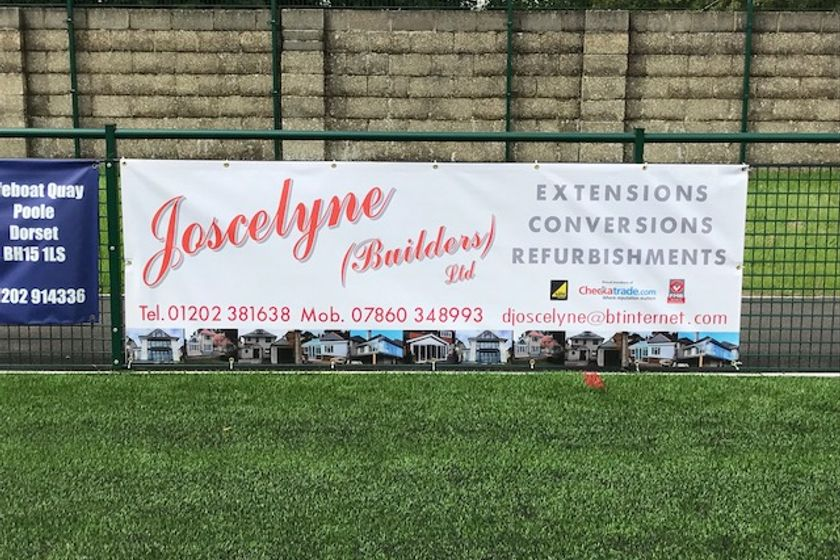 We are please to announce that Joscelyne have agree to sponsor the new turnstile entrance.