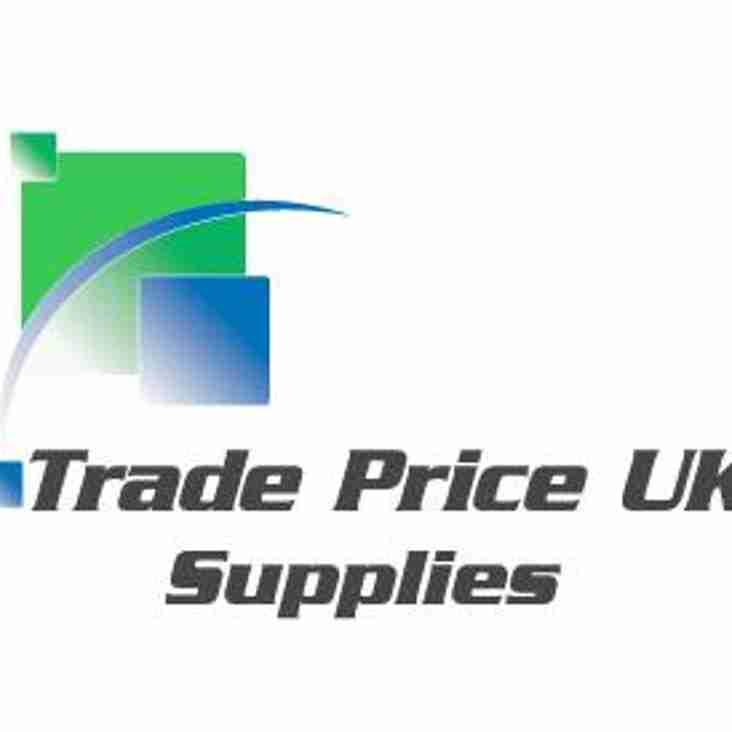 Trade Price Uk new track suit sponsors.