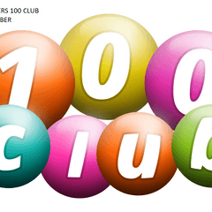 100 CLUB WINNERS FOR OCTOBER.