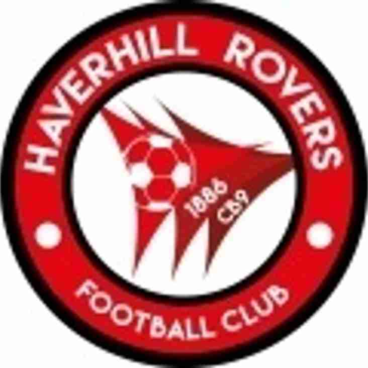 HAVERHILL ROVERS WELCOMES BACK JAMES BUSH AND KEVIN RUTHVEN