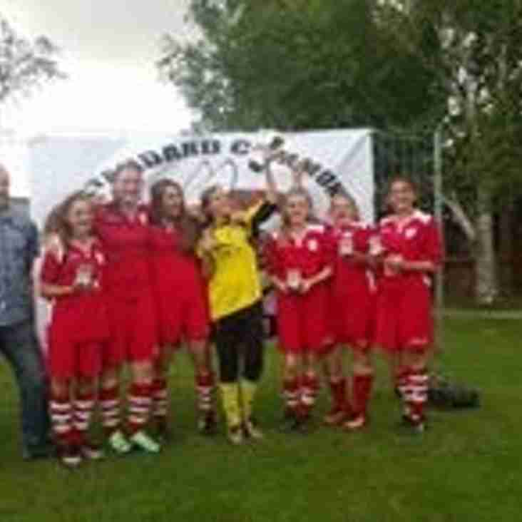 Triumphant Tournament Win - Congratulations to HRFC U14 Girls