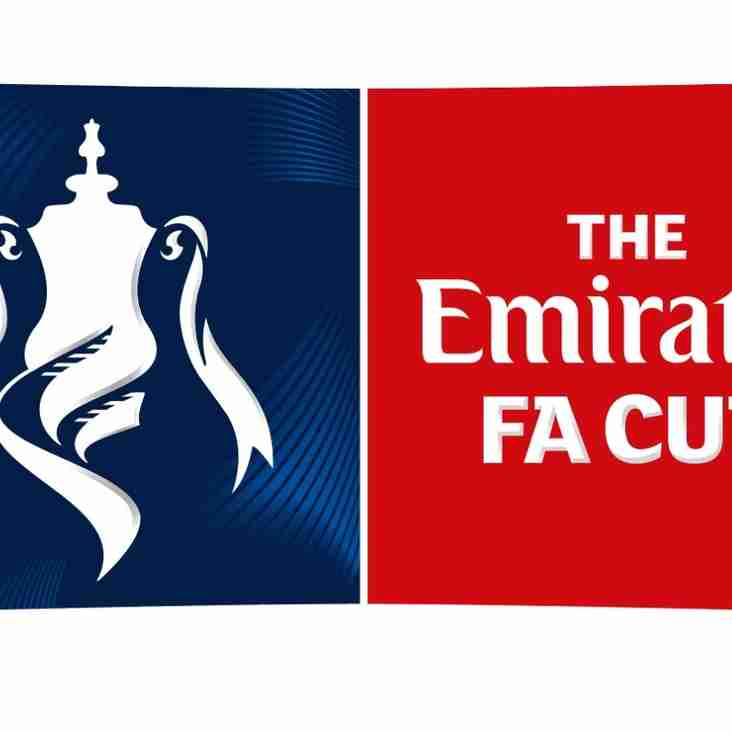 EMIRATES F A CUP MATCH - HAVERHILL ROVERS vs HERTFORD TOWN F C