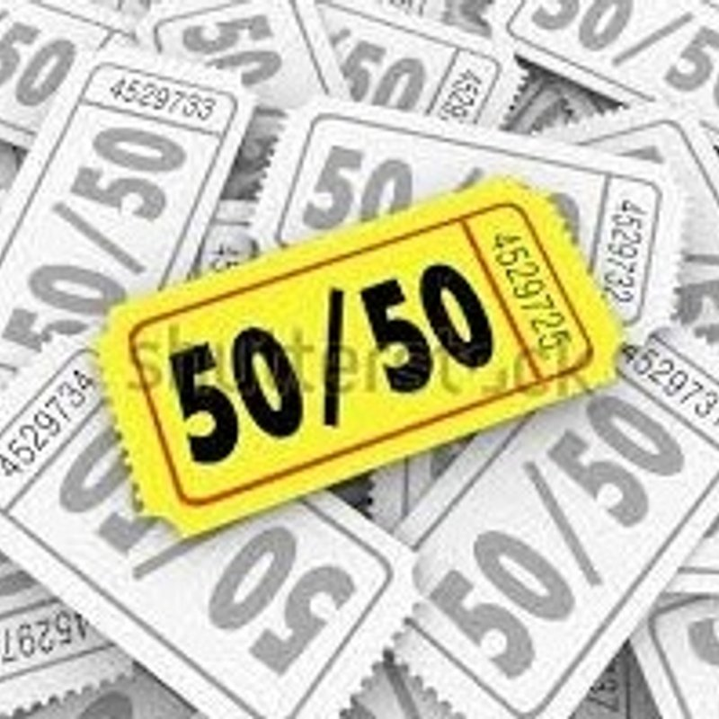 50/50 CLUB - Be part of it...