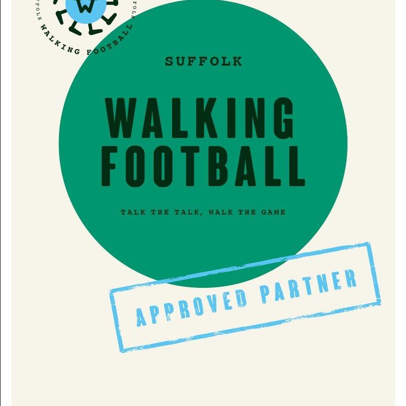 SUFFOLK WALKING FOOTBALL AT THE NEW CROFT
