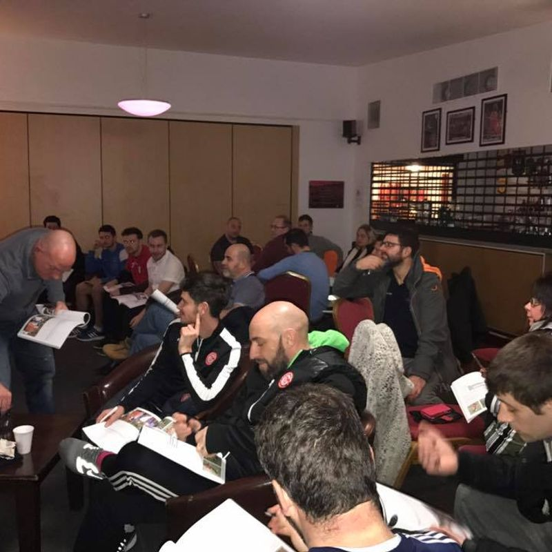 FANTASTIC TURNOUT FOR INTERNAL SUFFOLK FA COURSE