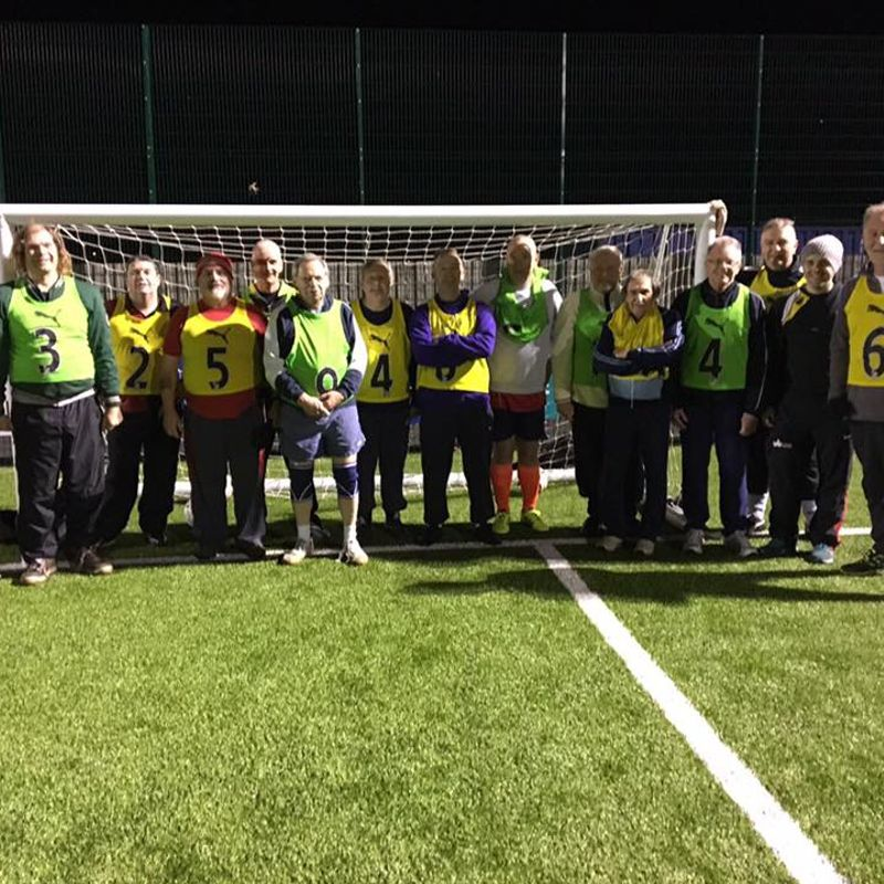ANOTHER FANTASTIC TURNOUT FOR WALKING FOOTBALL