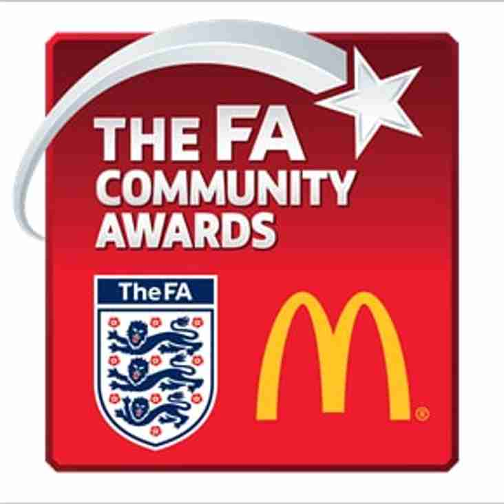 HAVERHILL ROVERS FC WINS THE PRESTIGIOUS FA CHARTER STANDARD COMMUNITY CLUB OF THE YEAR AWARD 2017