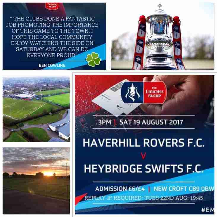 HAVERHILL ROVERS F C vs HEYBRIDGE SWIFTS F C