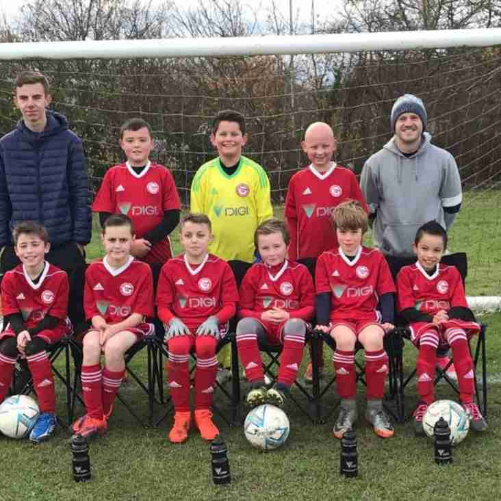 HUGE THANKS TO DIGI EUROPE TO SPONSOR NOT ONE BUT TWO YOUTH FOOTBALL KITS