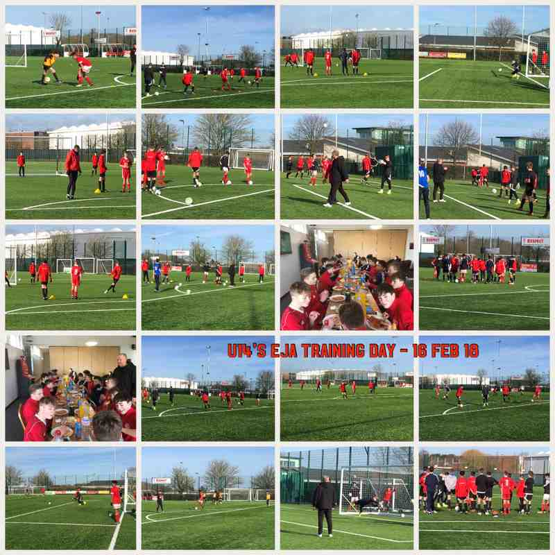 U14's EJA Training Day- 16 Feb 18