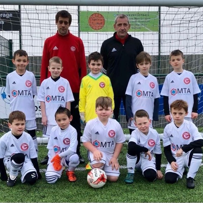 U8's GREEN BOAST NEW KIT THANKS TO M T A  HEALTH CARE SOLUTION