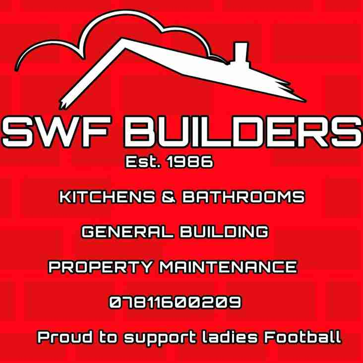 SWF BUILDERS PROUD TO SUPPORT LADIES FOOTBALL