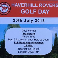 HRFC Golf Day - 20 July 2018