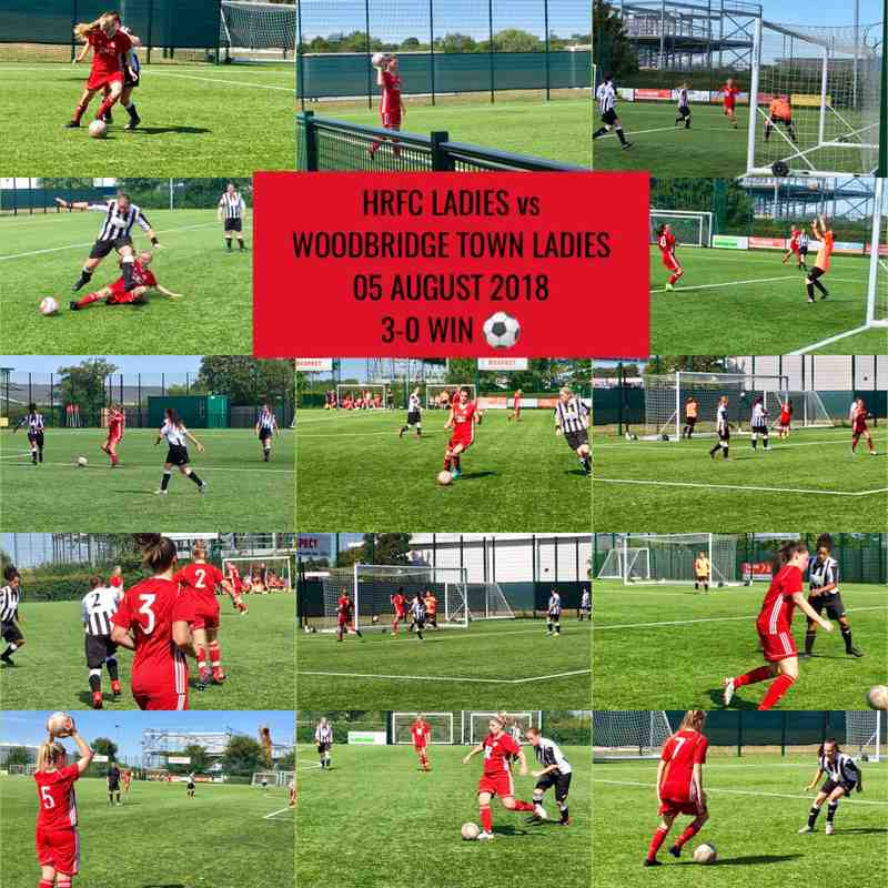 05 Aug 18 HRFC Ladies vs Woodbridge Town Ladies