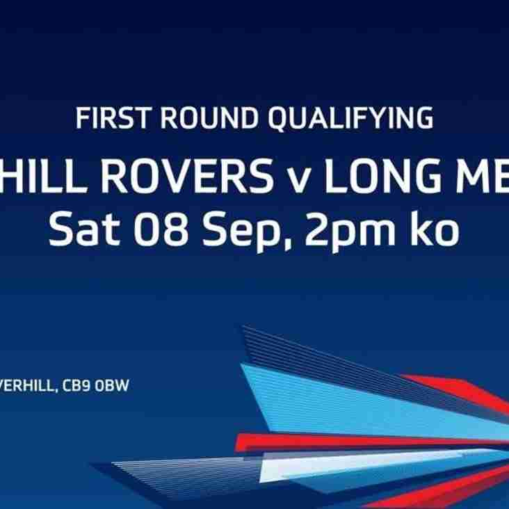 EMIRATES FA CUP - FIRST ROUND QUALIFYING - HAVERHILL ROVERS vs LONG MELFORD - SAT. 08 SEP 18