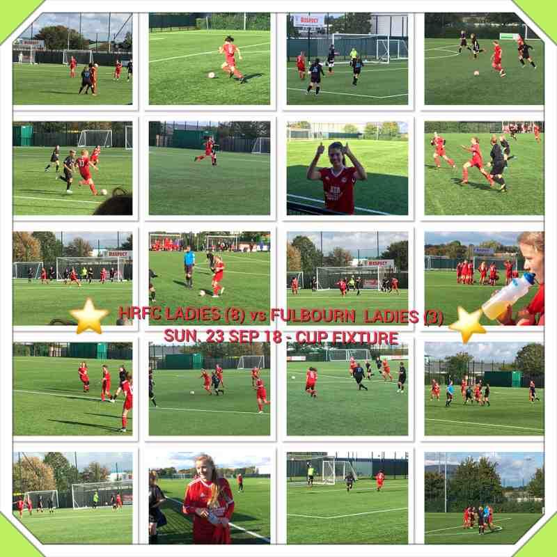 HRFC Ladies 8 vs Fulbourn 3