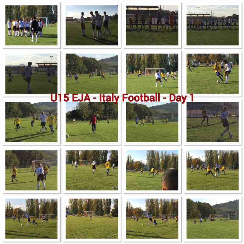 U15 EJA - Football Tournament - Italy 2018