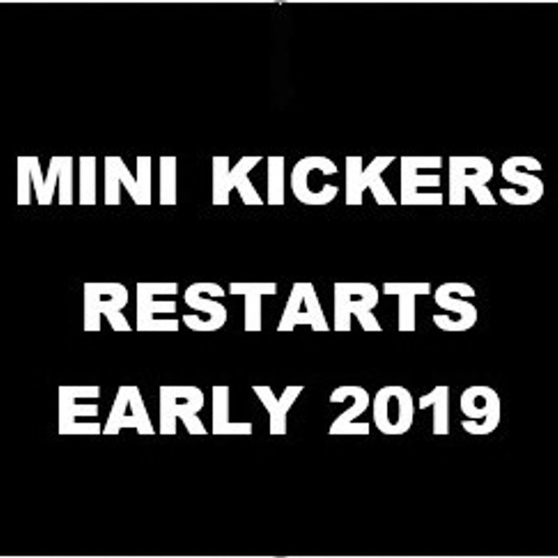 MINI KICKERS - RESTARTS EARLY 2019
