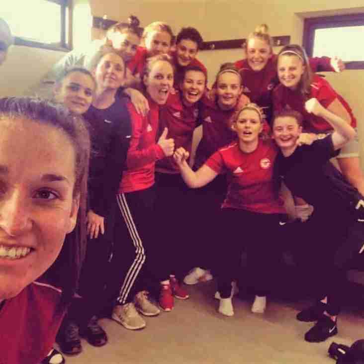 AMAZING HRFC LADIES THROUGH TO SUFFOLK FA CUP SEMI-FINALS