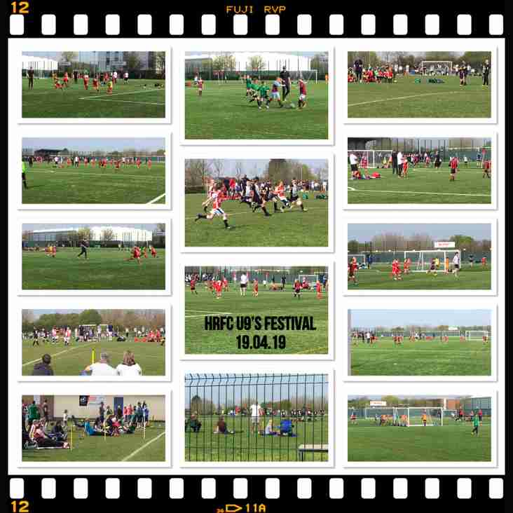 FANTASTIC TURNOUT TO OUR U9's EASTER FOOTBALL FESTIVAL