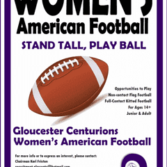 Women's American Football Team launching soon!