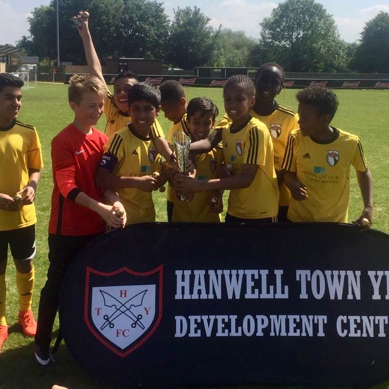 U12s Cup Winners 2018 at Hanwell FC Tournament