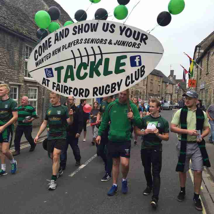 Well Done to FRFU - Best Banner 2016