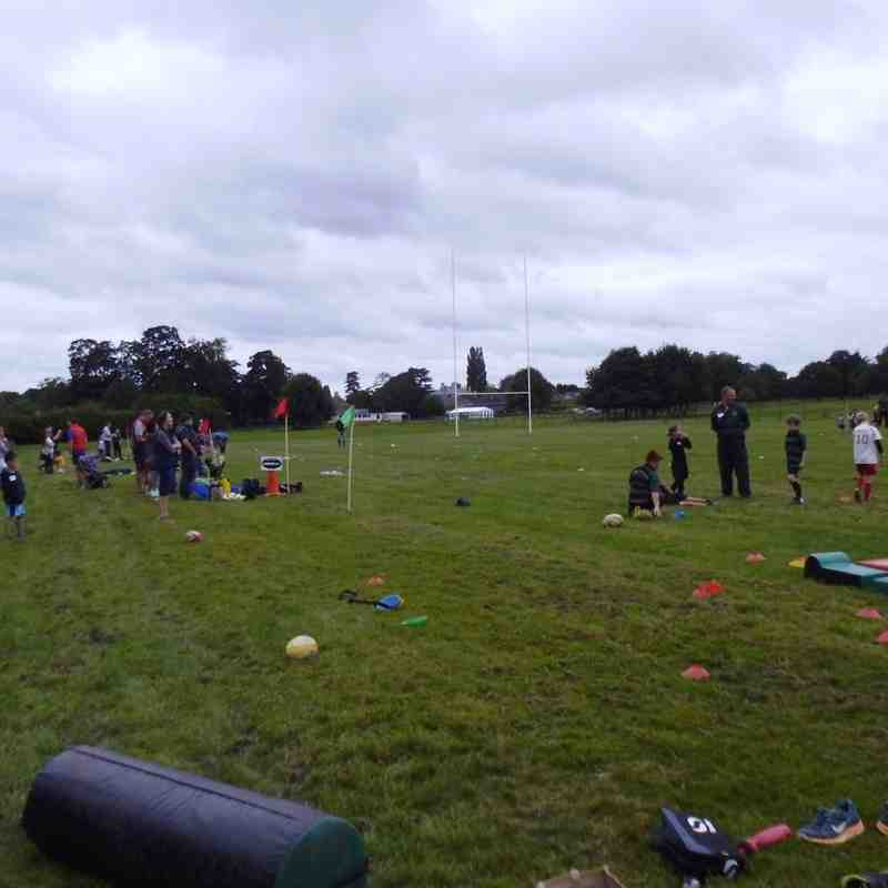 4th September - Great first training morning