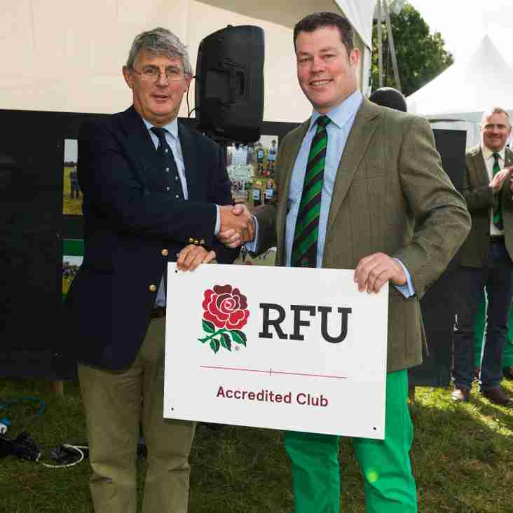 Fairford RFC pitch opening event - Standard press release