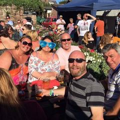 Let's BBQ! Ladies Touch Rugby Team supporting The Plasterers at Lifeboat Day - Monday 29th August