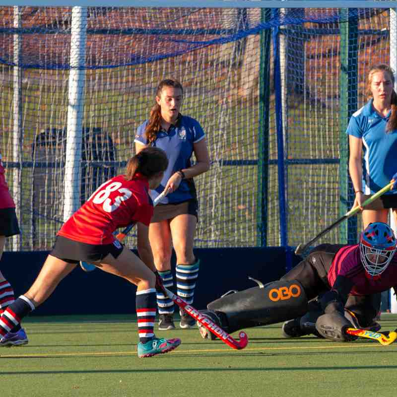 2018-11-18 3rd XI Ladies v Aldershot & Farnham