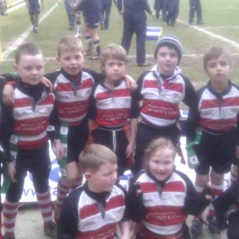 Under 8's win at Headingley