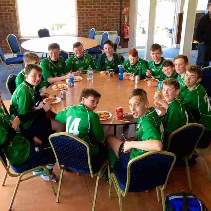 Datchworth U13's beat Tabard RFC in final friendly of the season