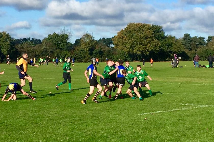 Datchworth U14's come up short against Hertford A's