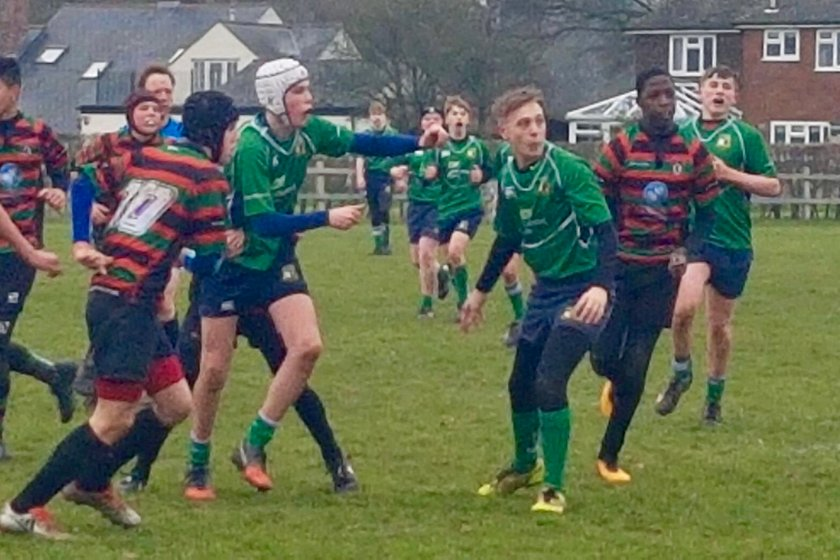 Datch share honours with Fullerians