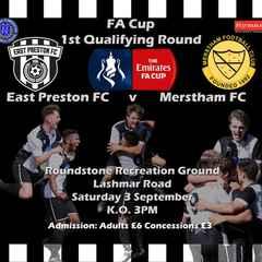 FA CUP: EAST PRESTON vs. MERSTHAM
