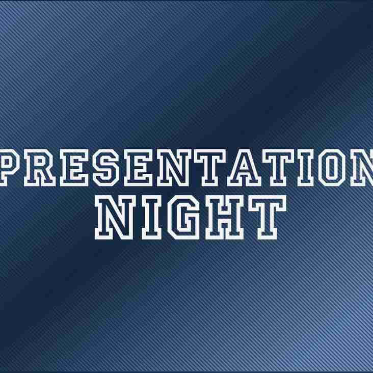 CLUB PRESENTATION NIGHT