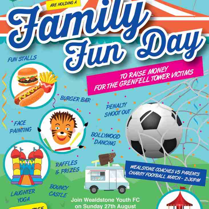 Wealdstone Youth Family Fun Day Charity Event