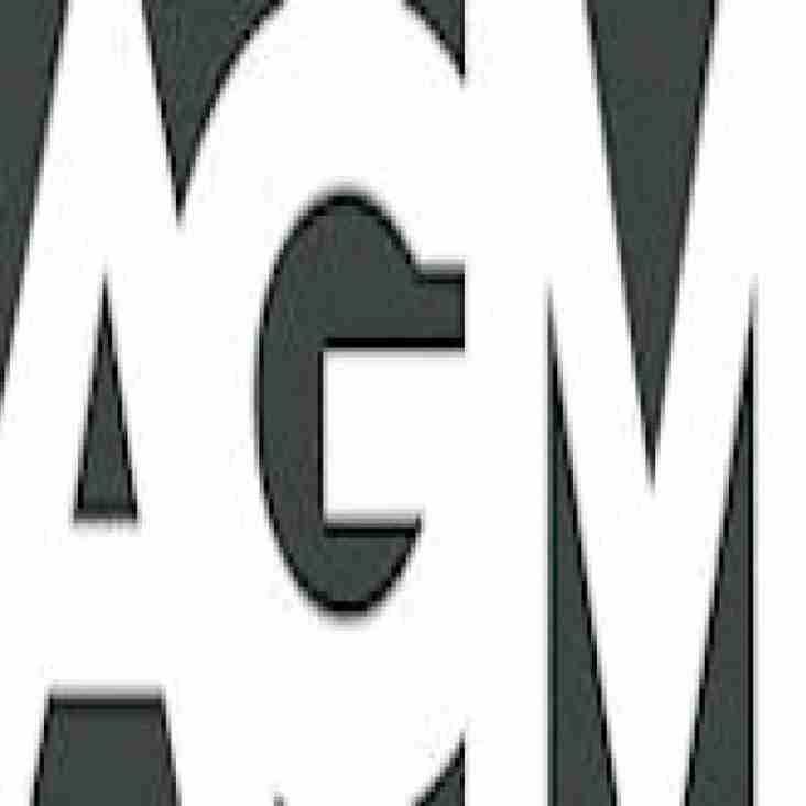 AGM Wednesday 18th October 2017 at 8:00 p.m - Norbury Clubhouse, County Road