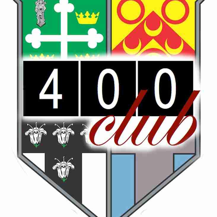 COXA 400 Club - £1000 DRAW!