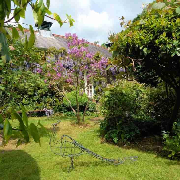 Jakes glorious garden.