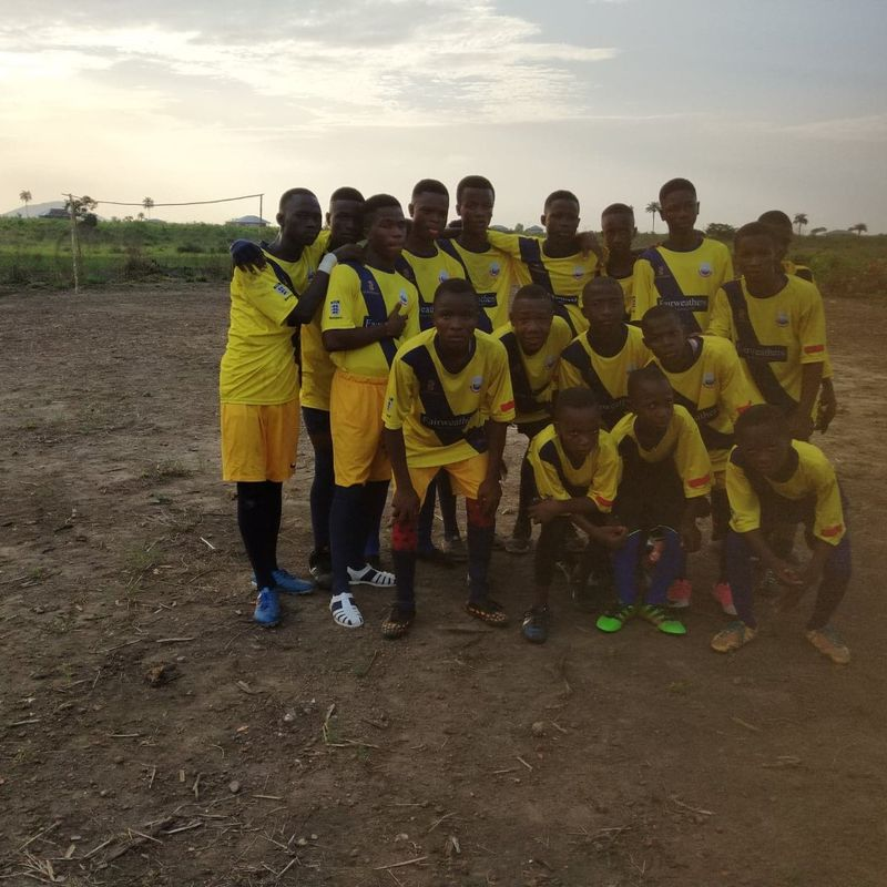 WHITSTABLE TOWN FC GEAR FOR AFRICA PROGRAMME
